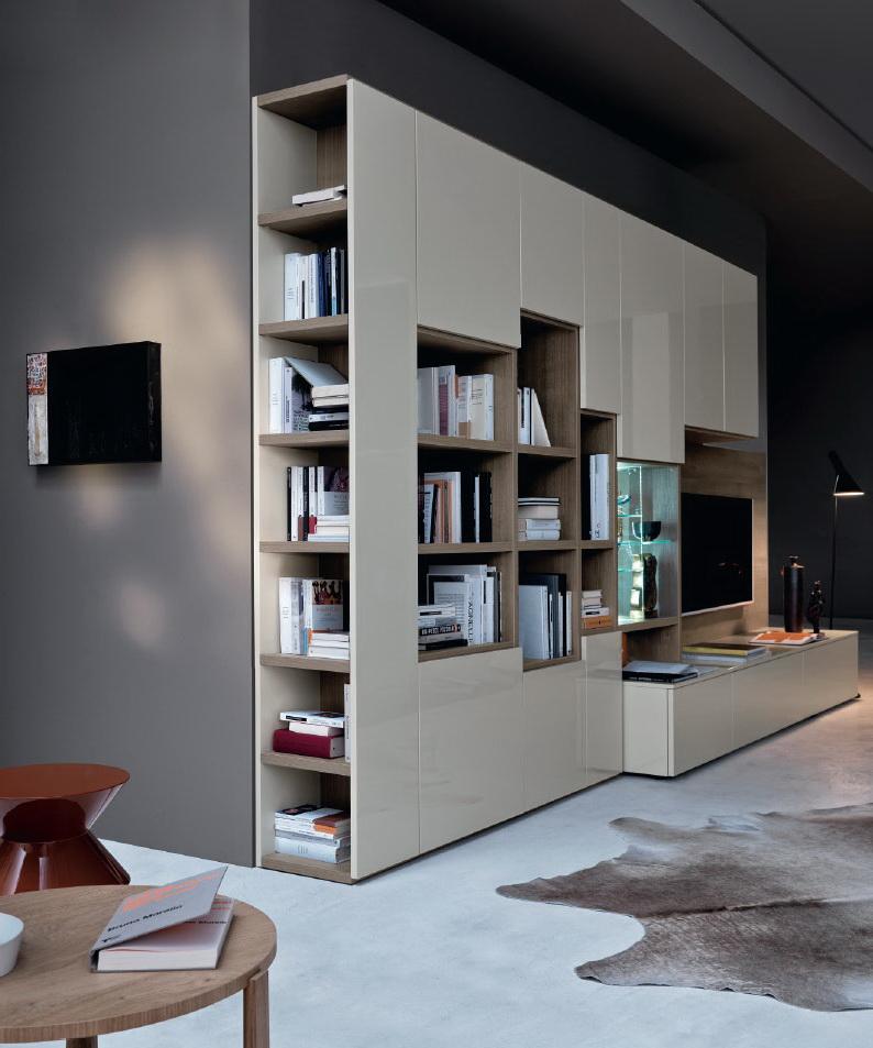 San giacomo soggiorno libreria modo ferrario arredamenti - San giacomo soggiorni ...
