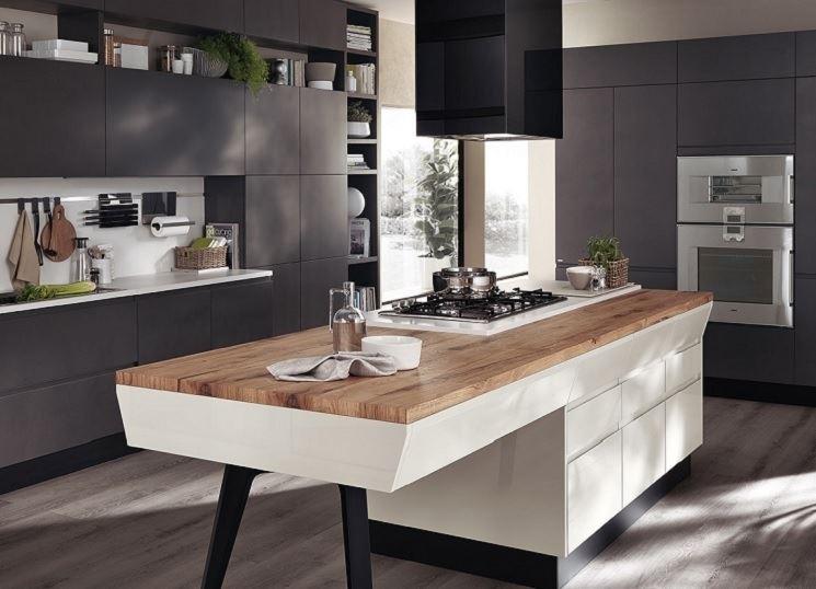 Scegliere i piani cucina ferrario arredamenti - Piani cucina cemento ...